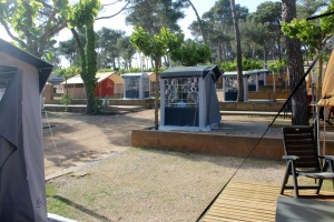 Rent a Safari tent in Spain at the Costa Brava