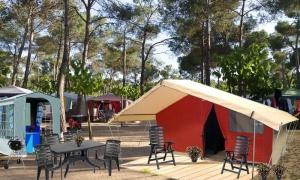 Mieten Sie eine Safari-Zelt Camping Costa Brava