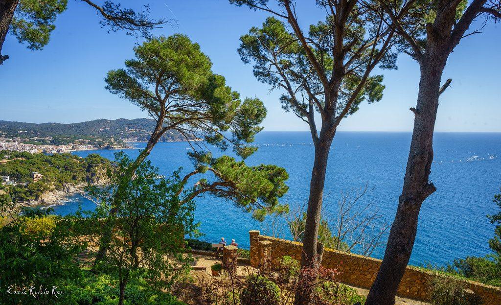 Spaanse kustlijn Costa Brava