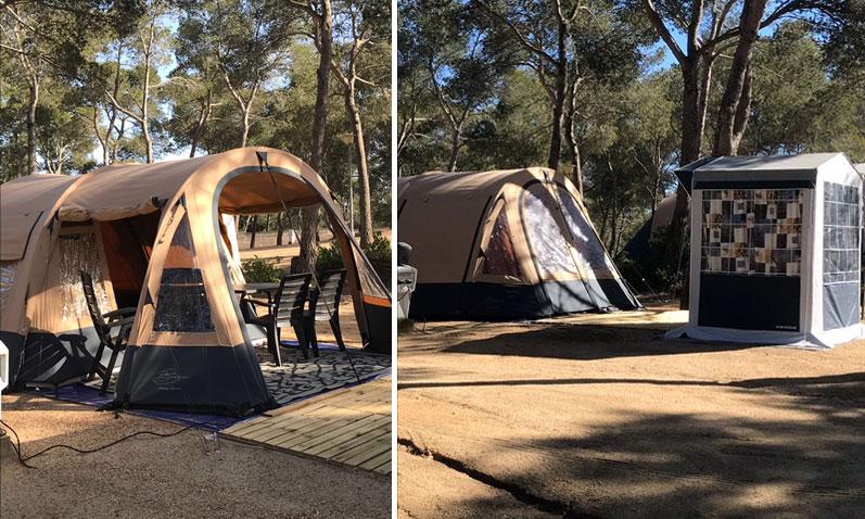 Tent huren Costa Brava